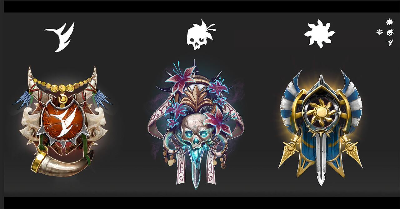 Final concept 3 factions