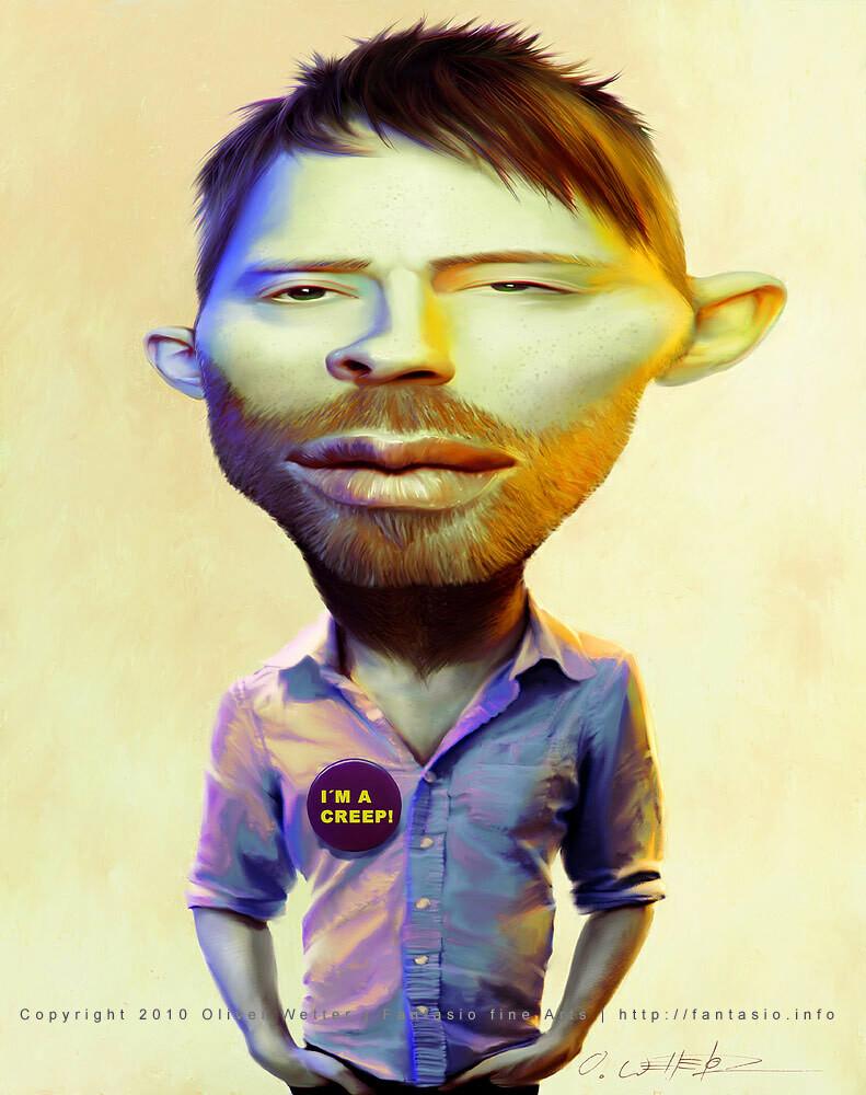 A creep from Radiohead