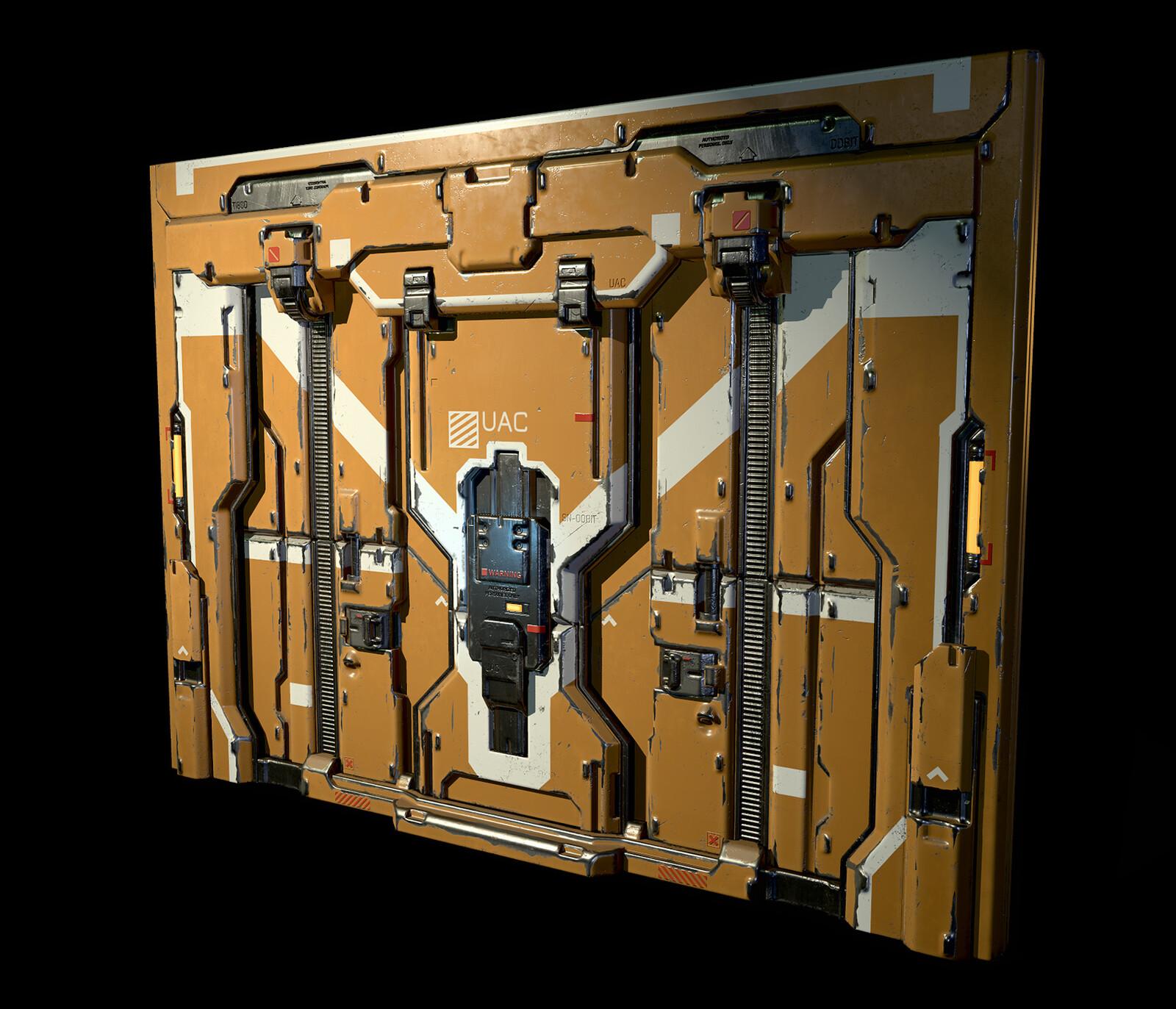Sci-Fi Doors for UE4