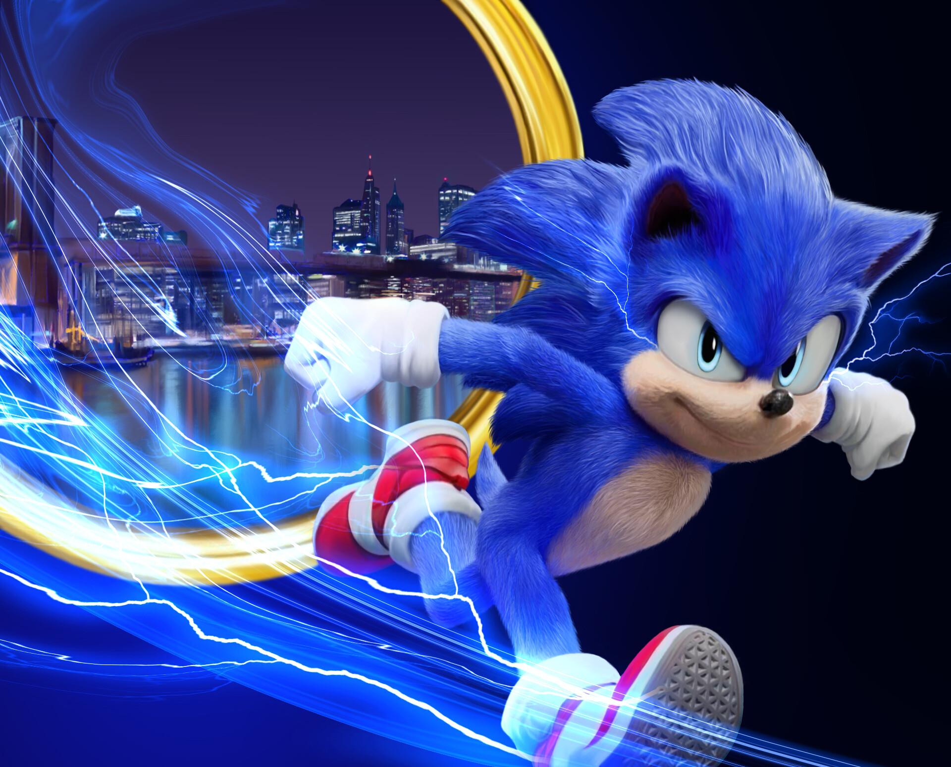 Artstation Sonic The Hedgehog Amay S