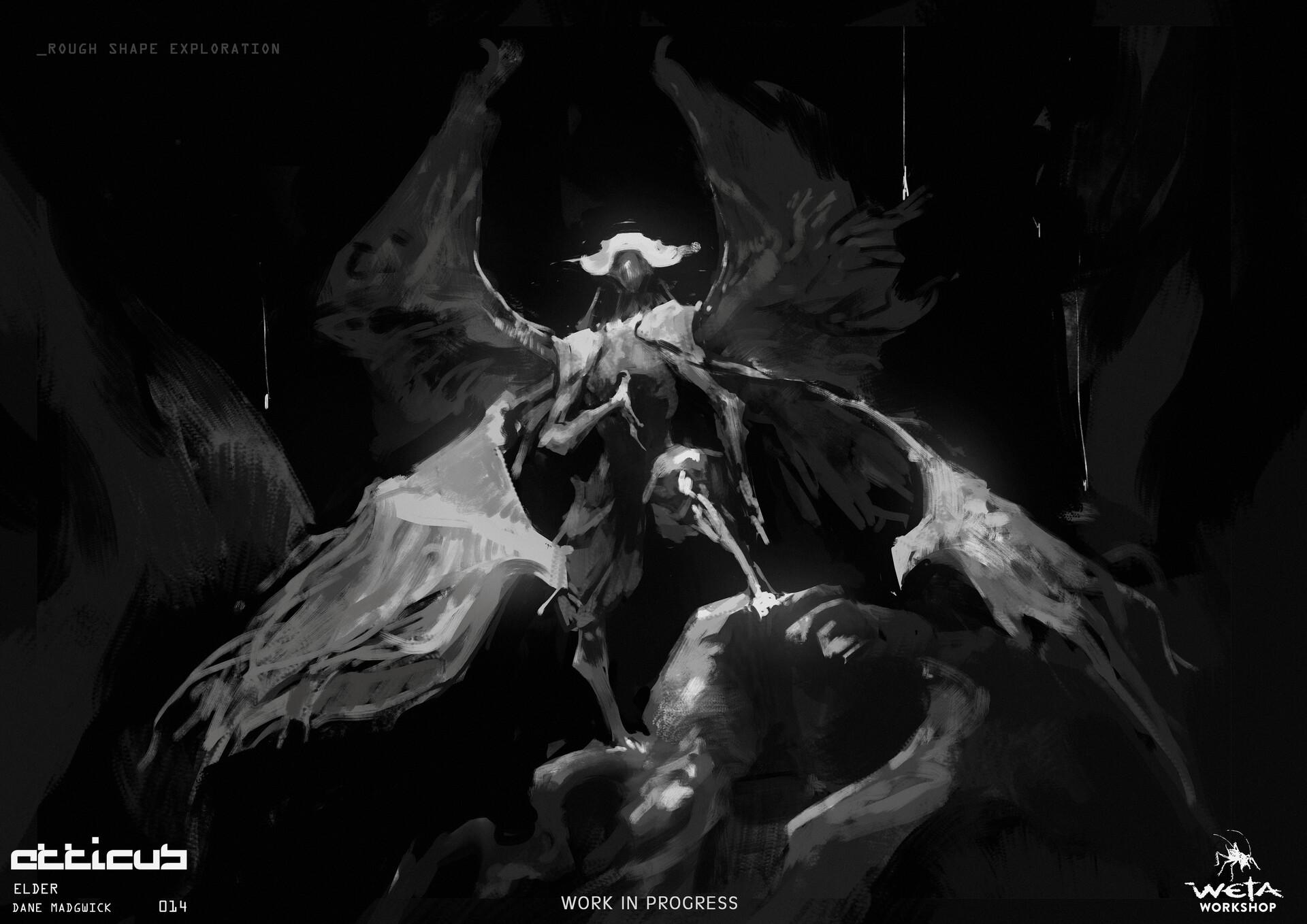 Elder Sketch - Artist: Dane Madgwick
