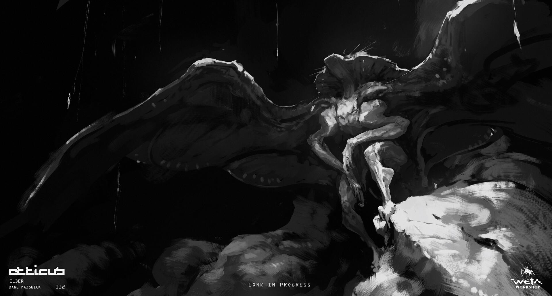 Elder, Wings Out - Artist: Dane Madgwick