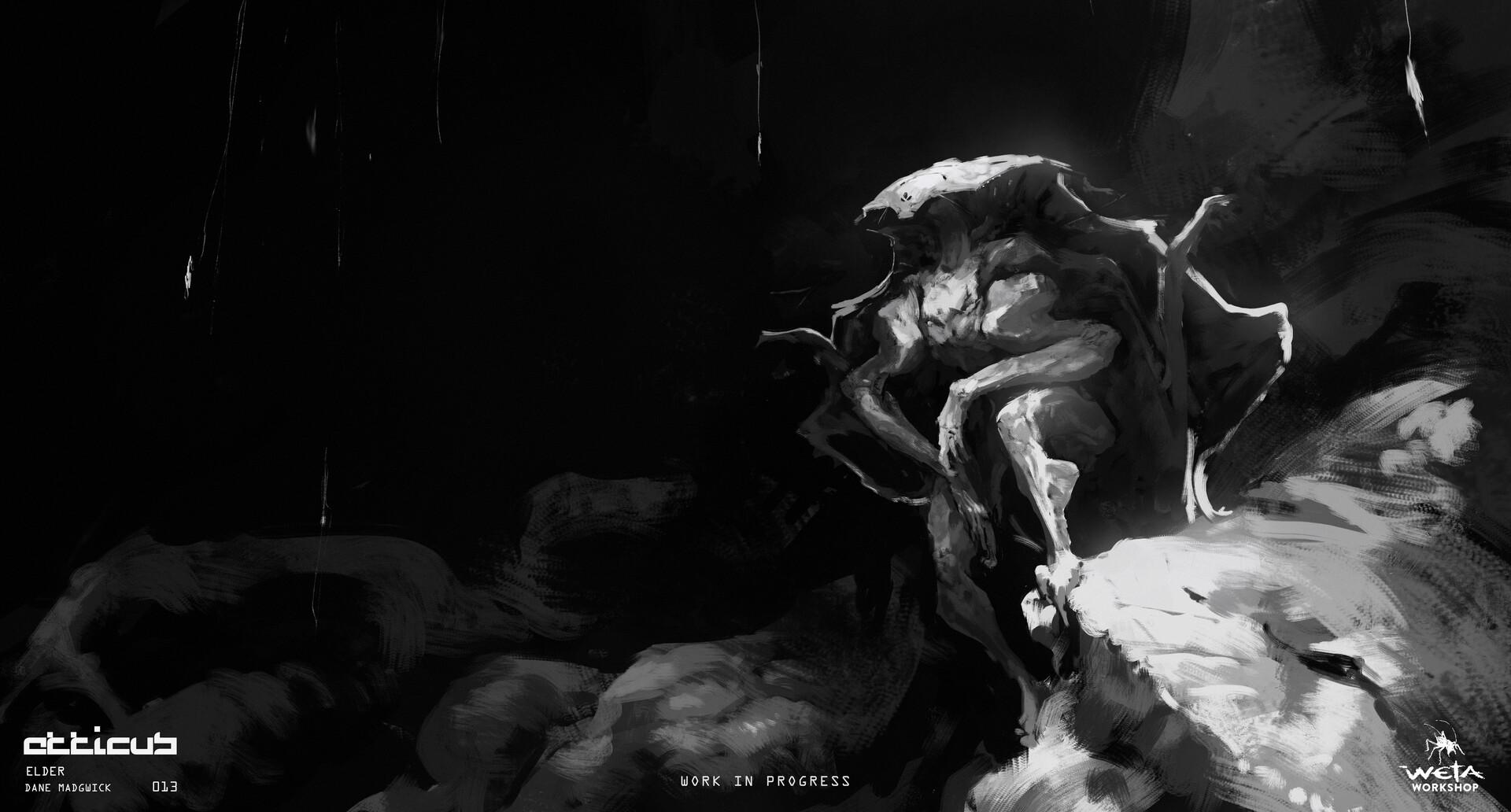 Elder, Wings Folded - Artist: Dane Madgwick