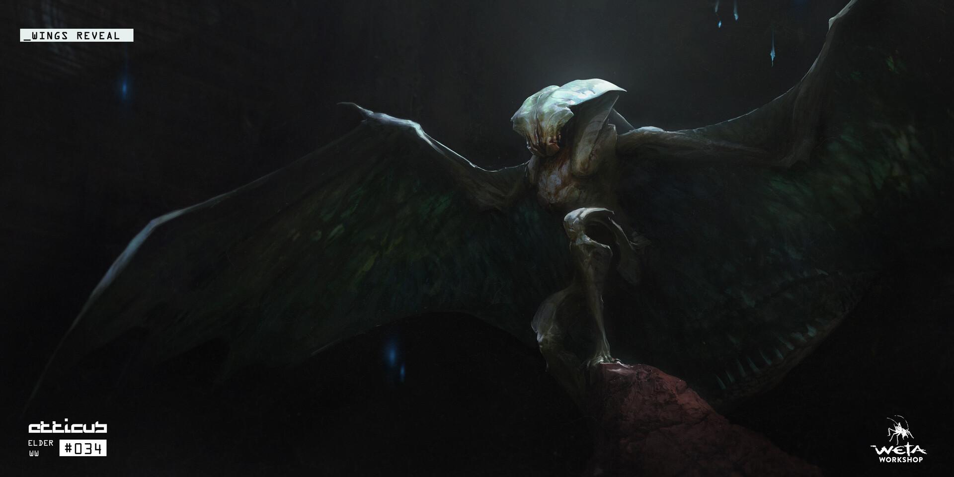 Elder Wing Reveal - Artists: Dane Madgwick + Russel Dongjun Lu + Greg Tozer