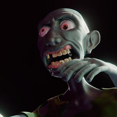 Hector rojo zombie final