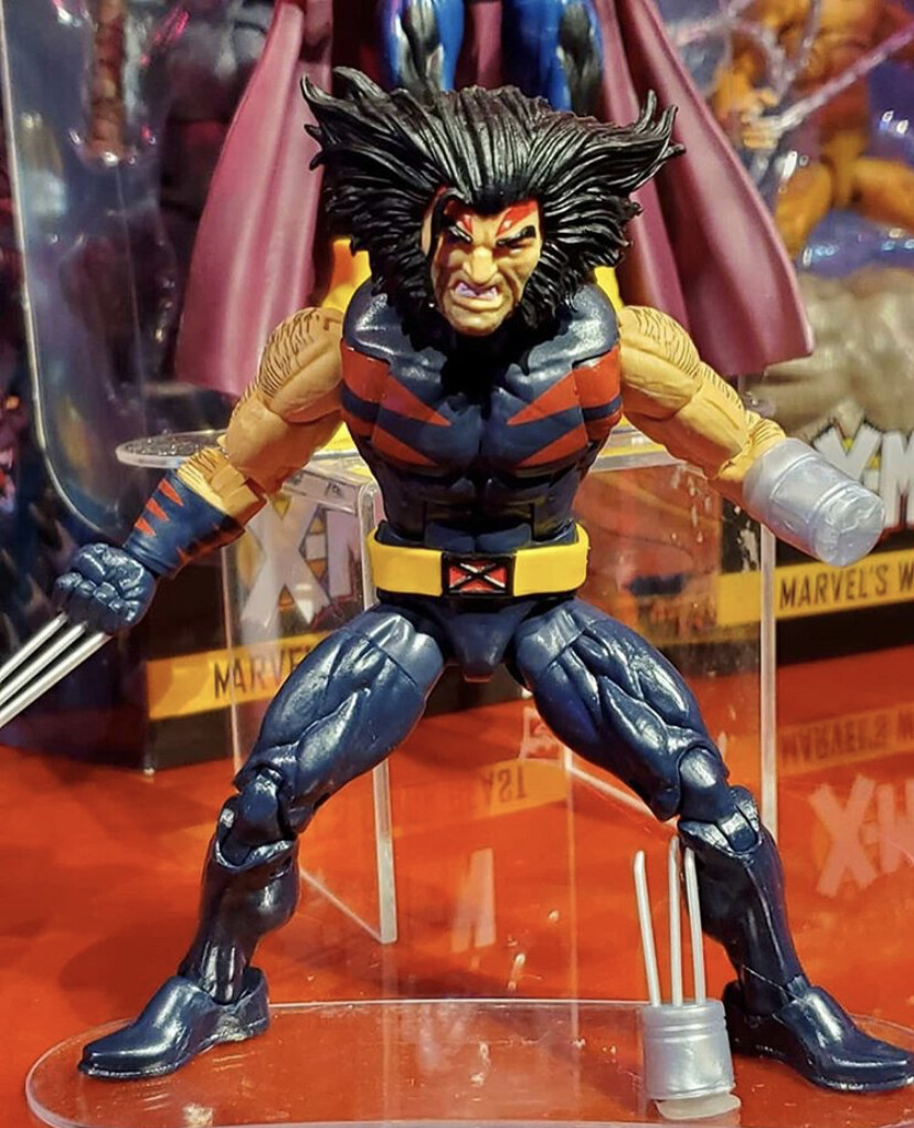 Wolverine figure (as seen at Toy Fair 2019)