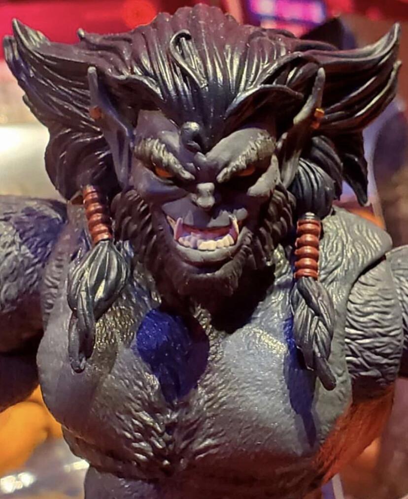 Dark Beast figure (as seen at Toy Fair 2019)