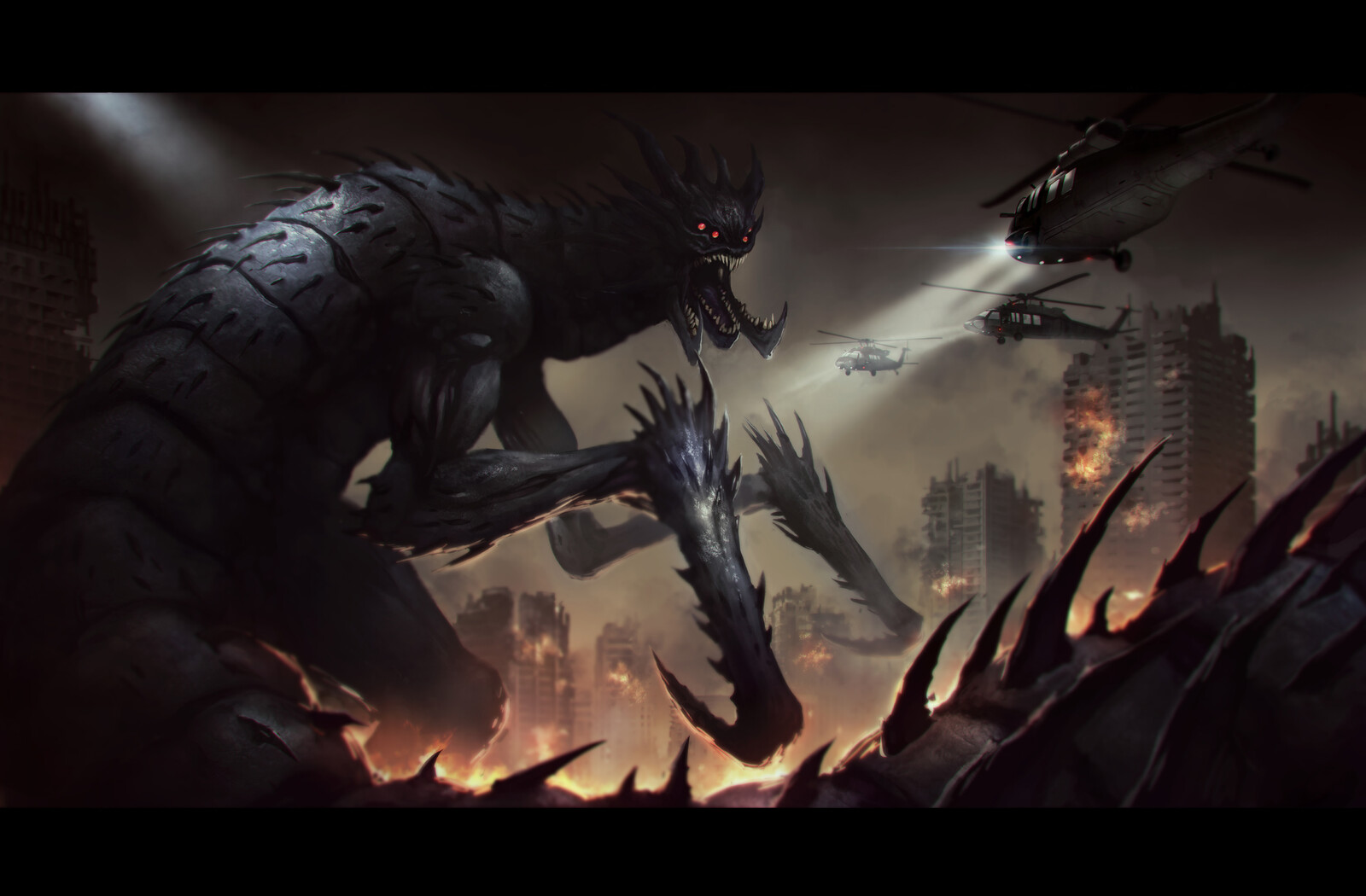 Kaiju Creature Design