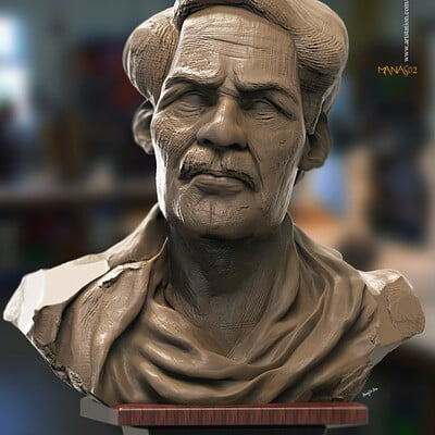 Surajit sen manasv2 digital sculpture surajitsen april2020ss