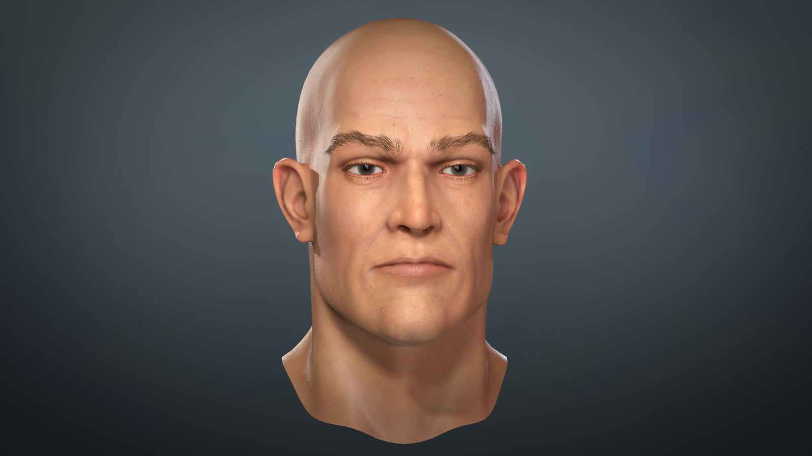 "Real time Character Portrait ""WIP"""