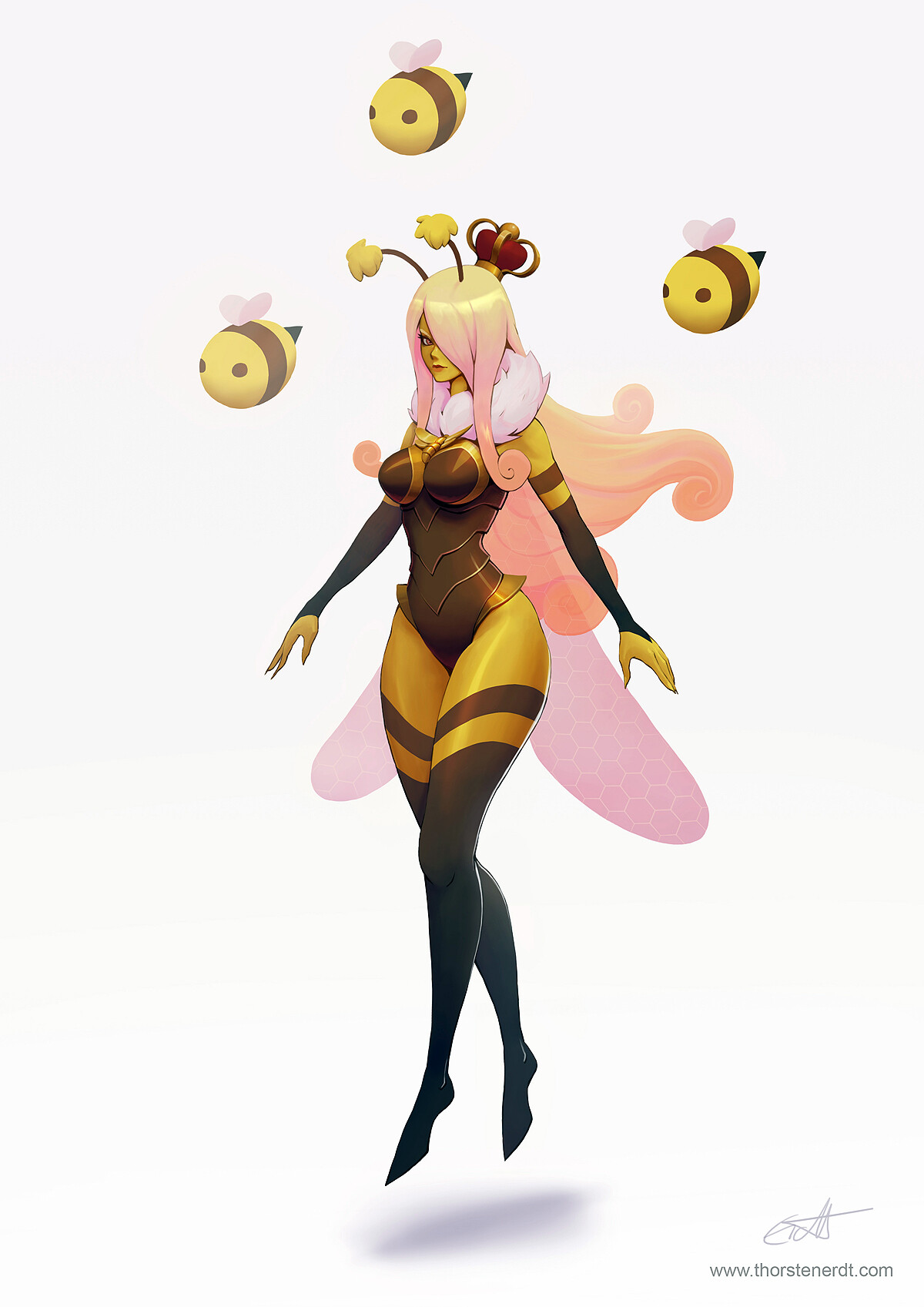 Queen Bee Syndra concept