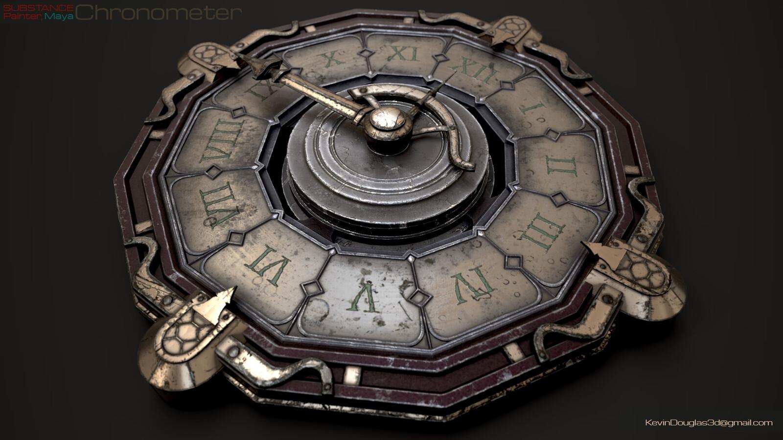 FFXIV Wall Chronometer