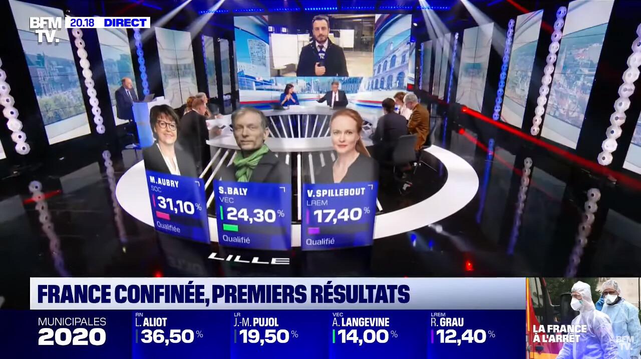 Élections Municipales 2020 BFMTV - AR Lille