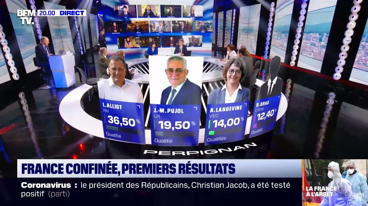 Élections Municipales 2020 BFMTV - RA PERPIGNAN