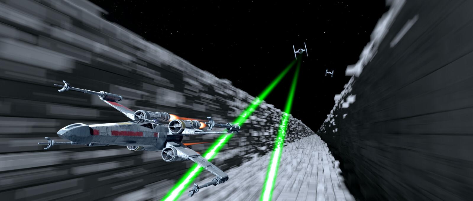 Star Wars X-Wing Recreation