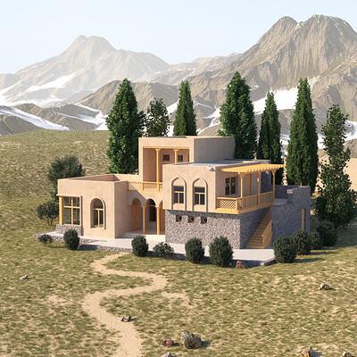Dilshod sharipov tadj house tradicional finish 028