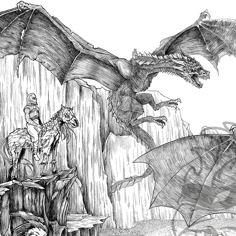 Game of Throne Hype Piece