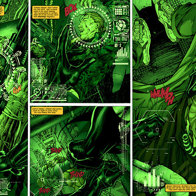Batman Hush Pages 2 and 3