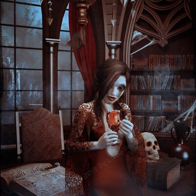 Lizzie prusaczyk d9s co goth doll