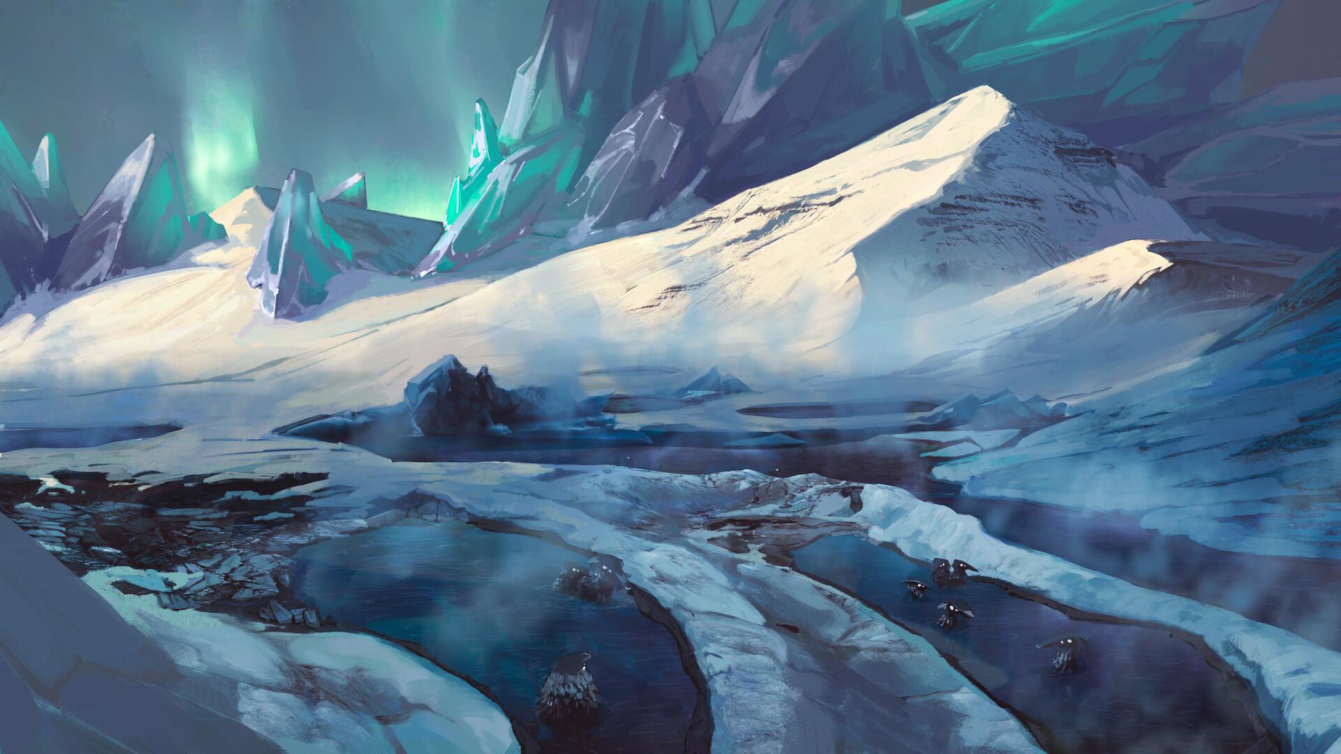 Ice oasis