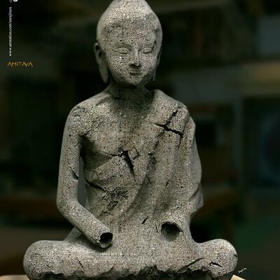 Surajit sen amitava digital sculpture by surajit sen april2020dd