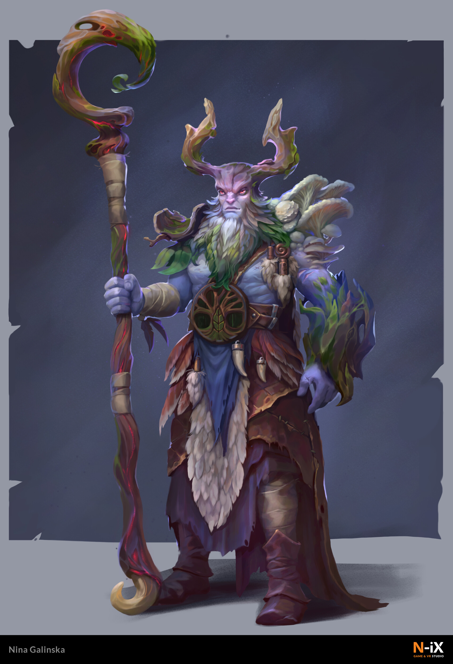 Druid character artwork
