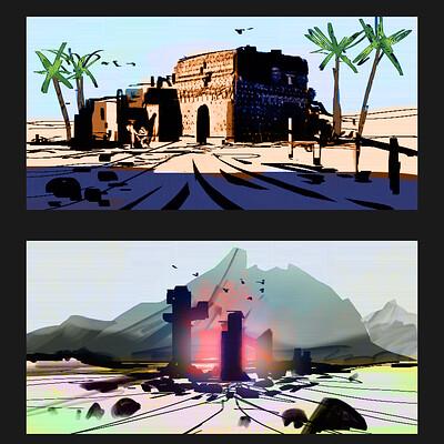 Taha yeasin day 174 thumbnail ideas 6 color