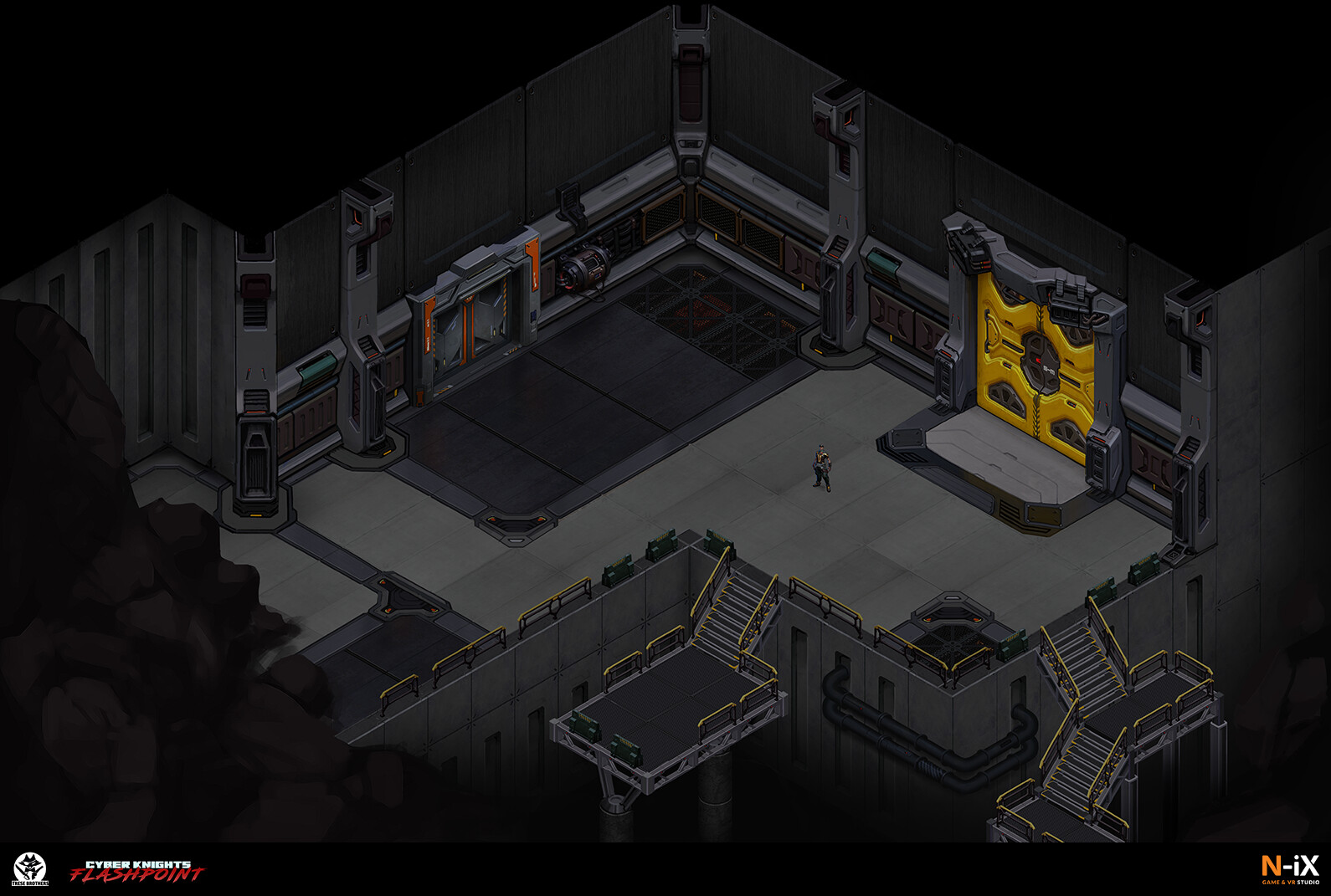 Cyber Knight: Flashpoint Environment