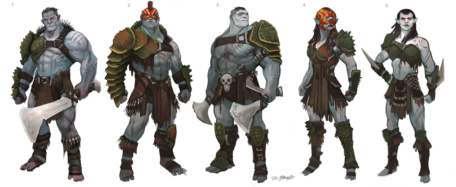 OGRE Designs for a Canceled Game