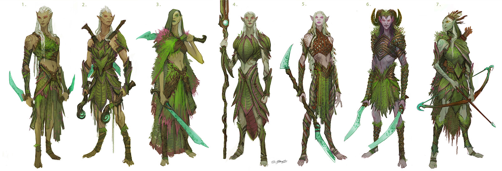 Elf Designs for Canceled Game