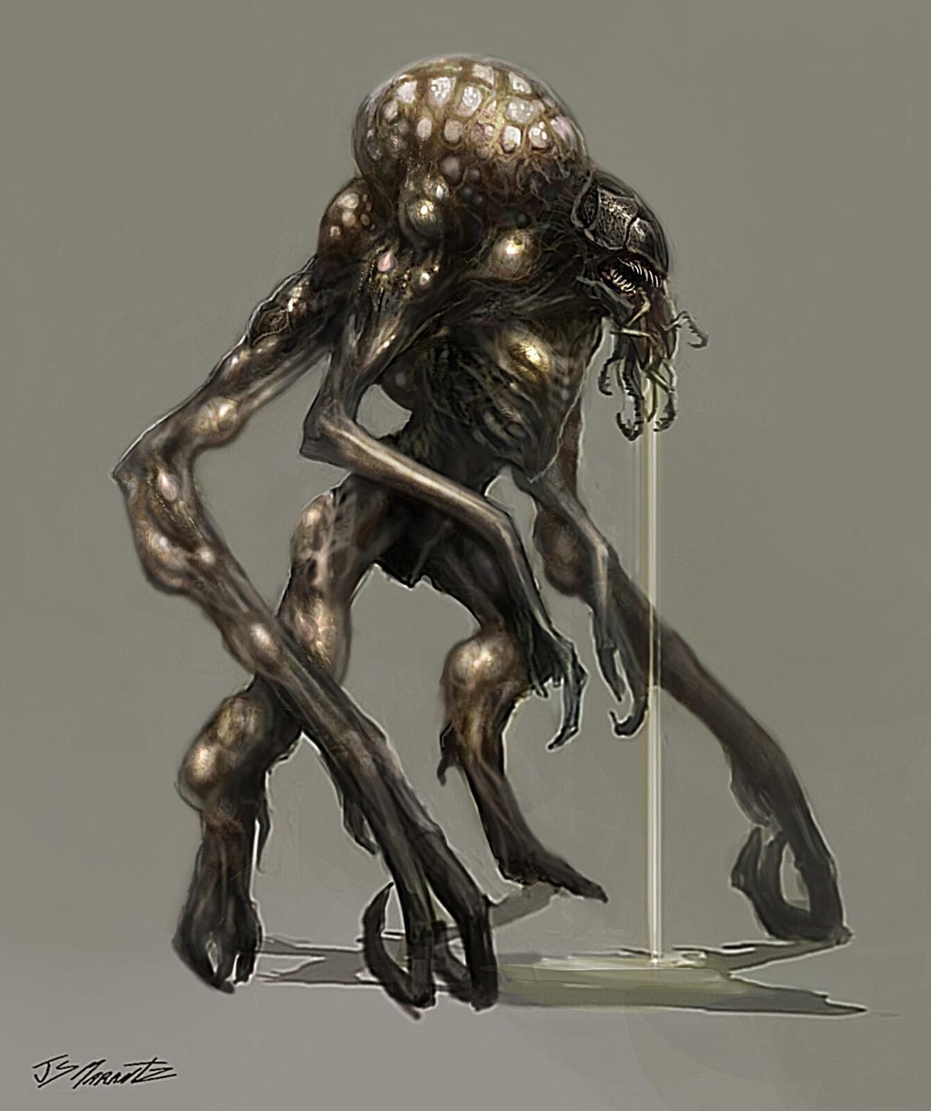 Titanfall Concept Art / Creature Design