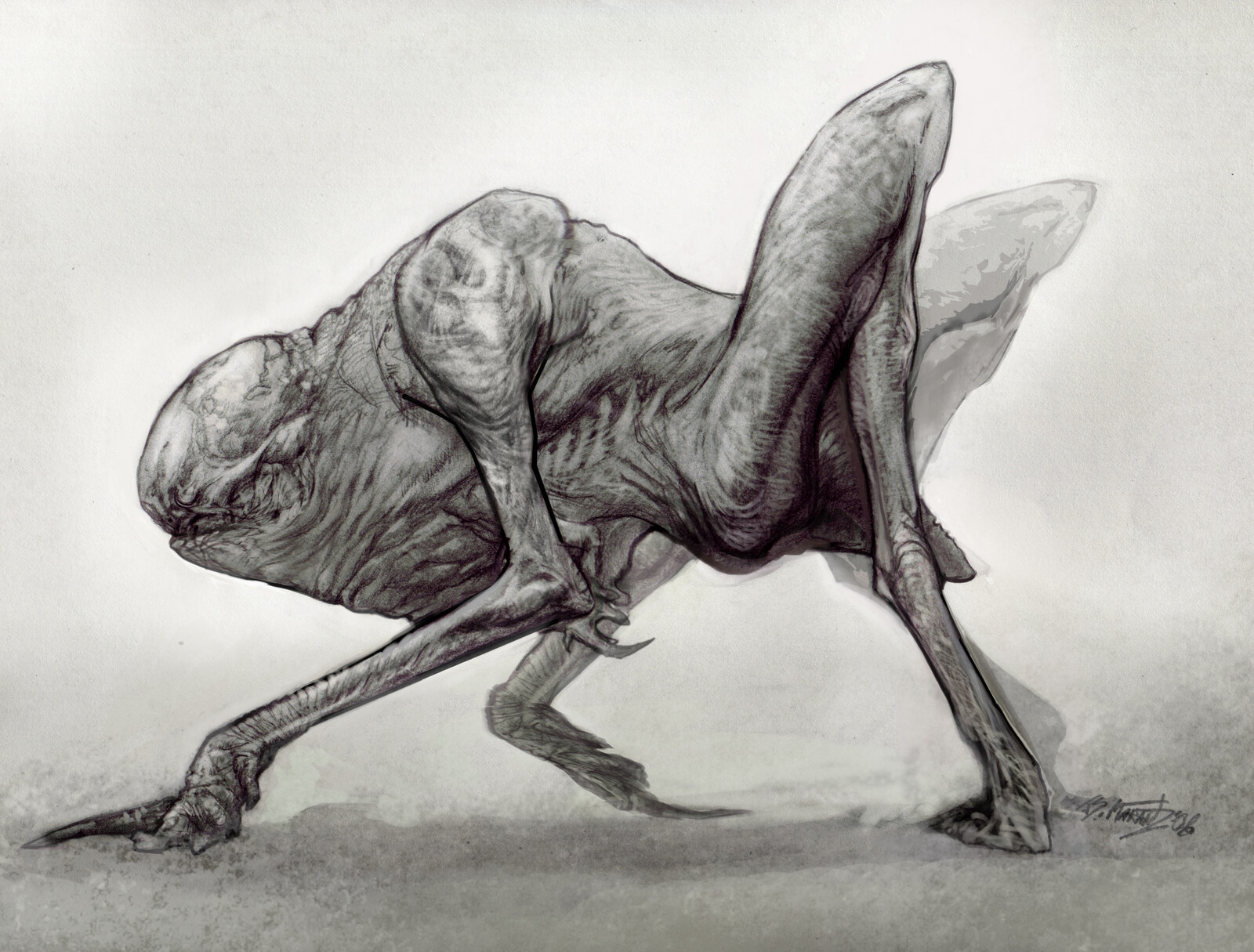 The Burrowers: Creature Designs