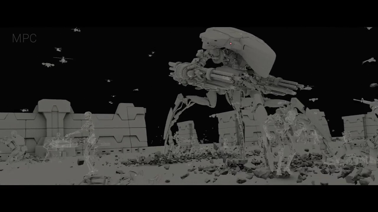 Spider Tank- Modelling