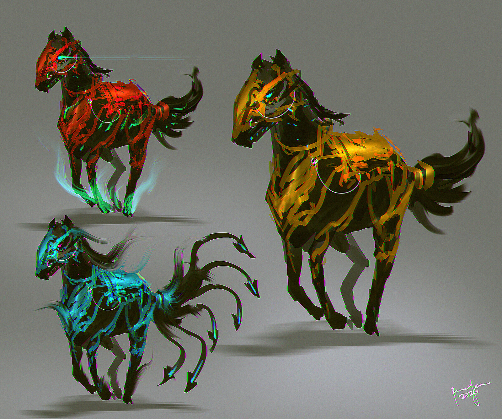 Creature concept - Mystical Horse
