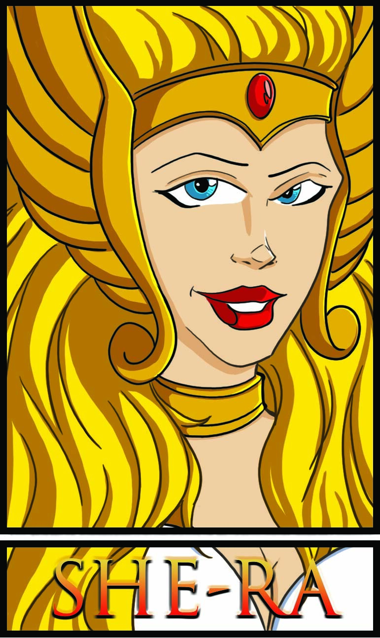 Image 2 of the Six Art Fan Challenge. She-RA
