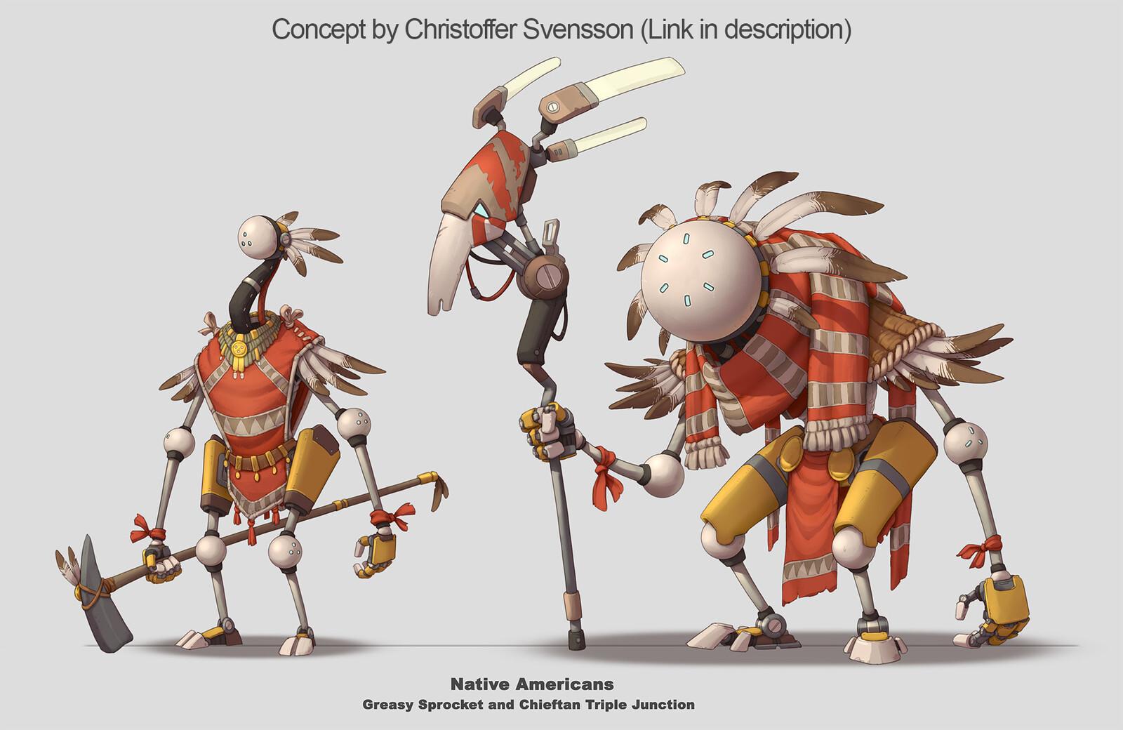 Concept by Christoffer Svensson