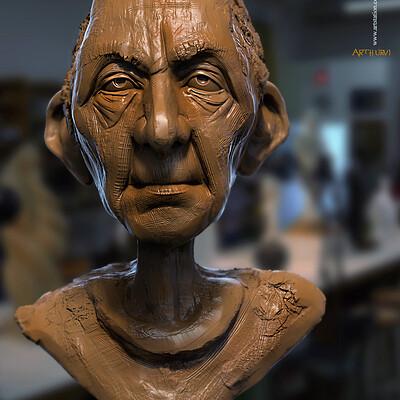 Surajit sen arthurv1 digital sculpture surajitsen april2020ss