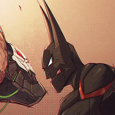 Tonton revolver tonton revolver bane v batman 01