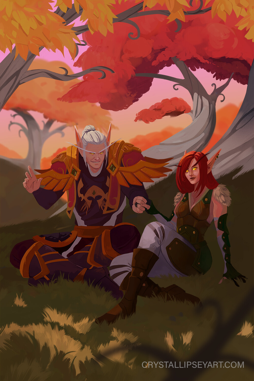Blood Elf Commission