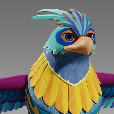 Seanna evans fuego thunderbird texture v001