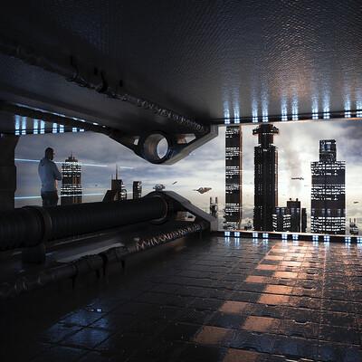Federico zimbaldi sci fi interior 1009