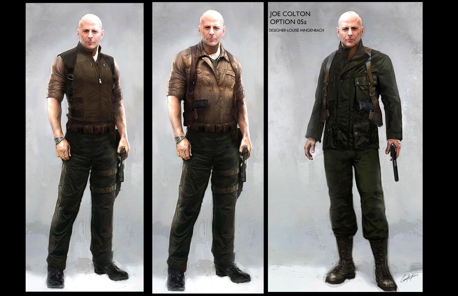 Joe Colton Costume  Concepts