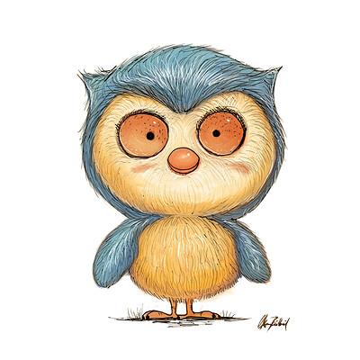 Okan bulbul owl new 001