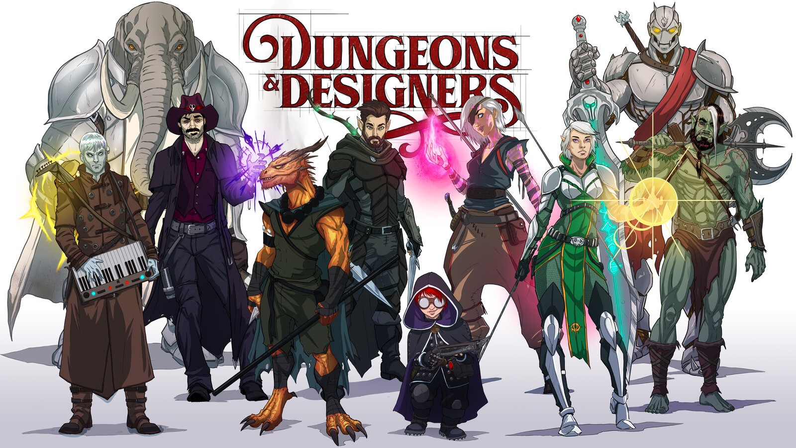 Dungeons and Designers: The Ten of Folly's End