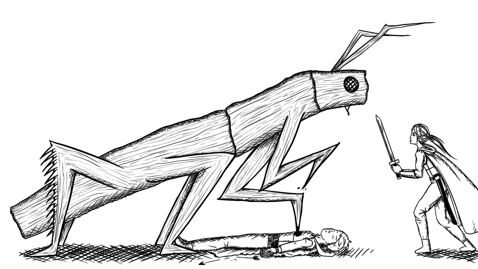Branch Stalker Illustration