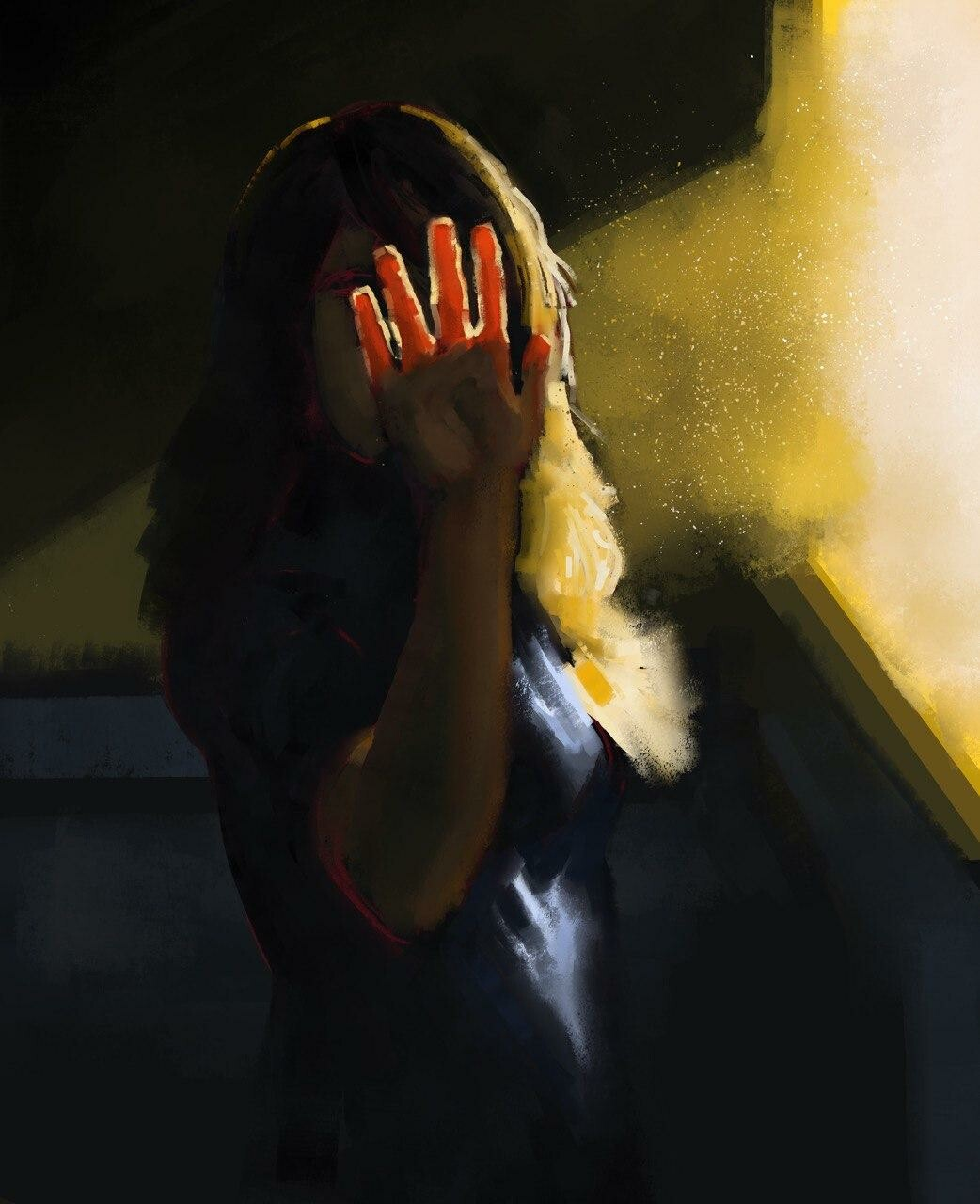 Light study - no color picking as usual.