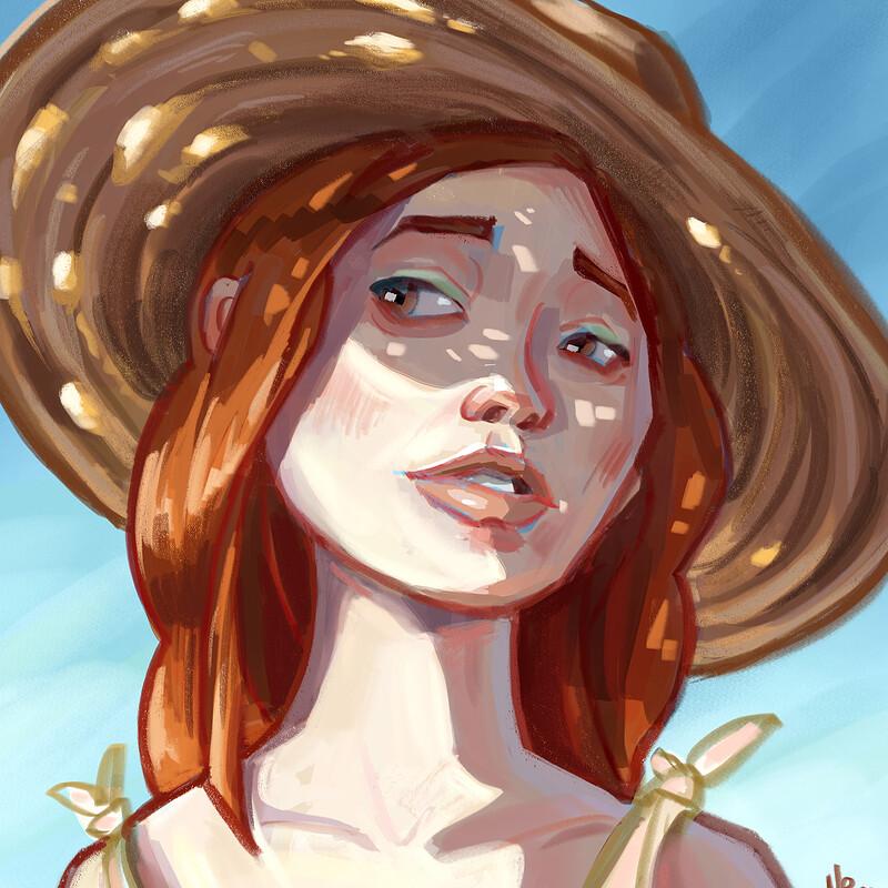 Summer light portrait - dtiys