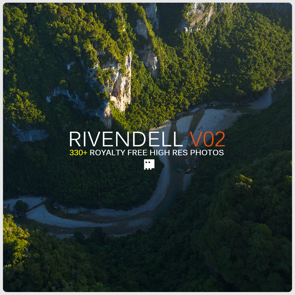 Rivendell Reference pack V02 / Aerials