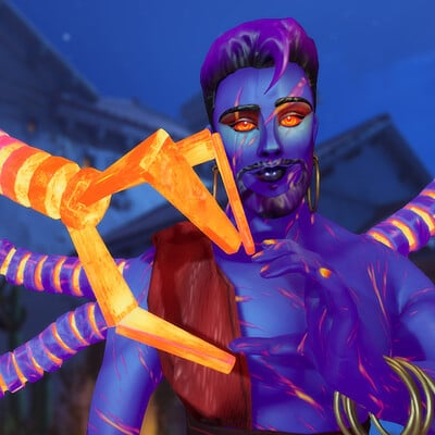 Aziz - Halloween Costume (Overwatch Character)
