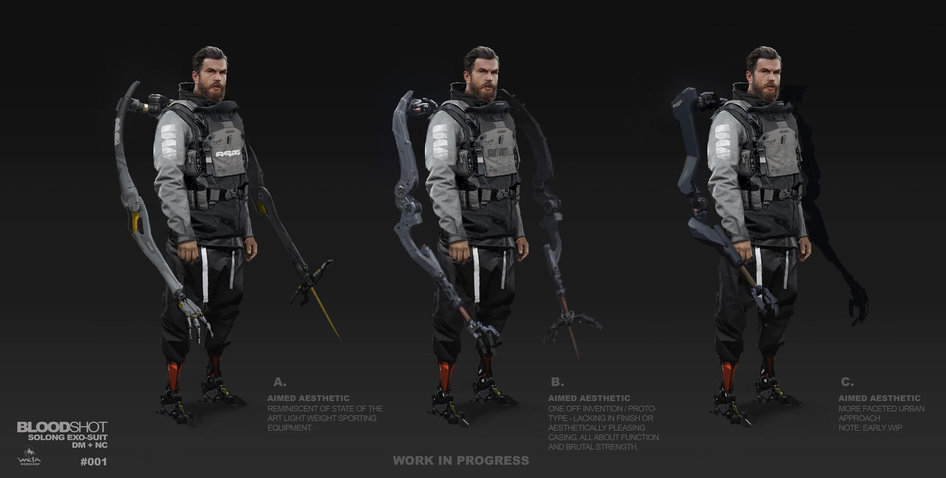 So Long Arm Concepts - Artist: Dane Madgwick (Costume: Nivanh Chanthara)